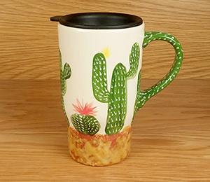 Pittsburgh Cactus Travel Mug