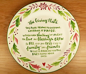 Pittsburgh The Giving Plate